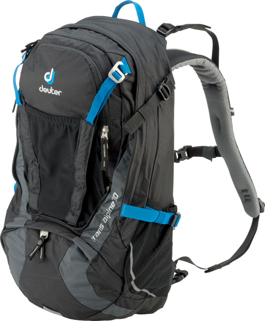 Details about Deuter Trans Alpine 30 Backpack BlackGranite