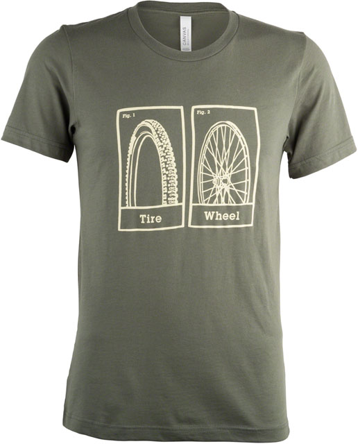 Tire v. Wheel T-Shirt - J1440