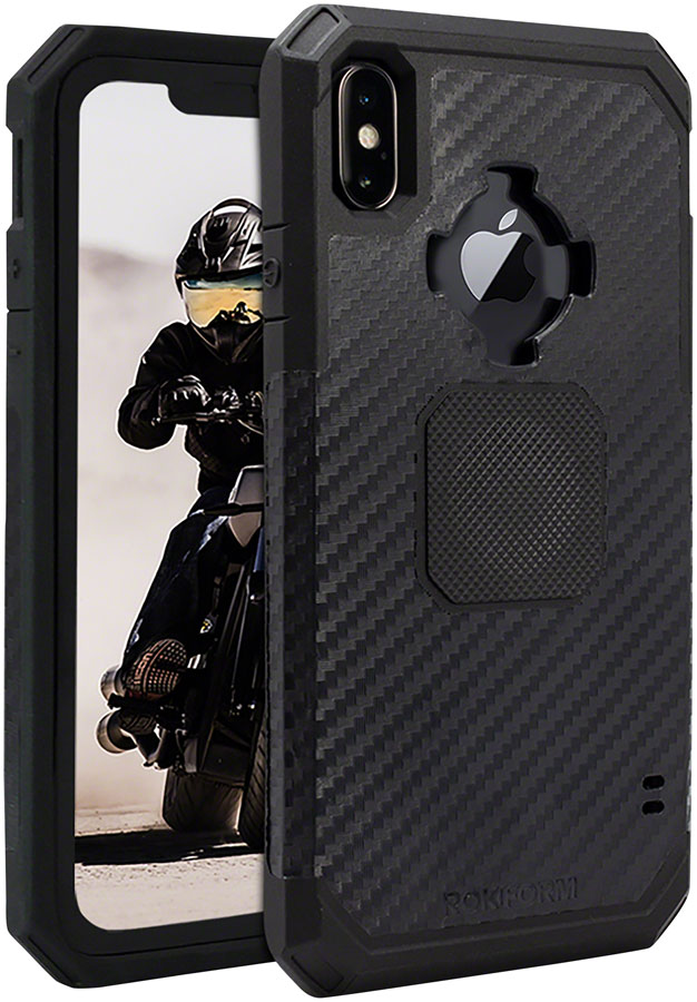 sports shoes 4d751 a1abe Details about Rokform Rugged Case for iPhone XS Max: Black