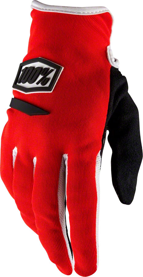 Red//White MD 100/% iTrack Men/'s Full Finger Gloves
